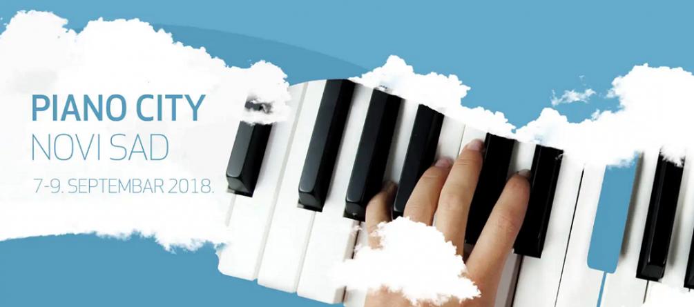 Festival Piano City Novi Sad od 7. do 9. septembra