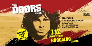 The Doors Alive 7. prosinca u zagrebačkom Boogaloo klubu