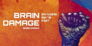 Brain Damage 29. studenog u zagrebačkom KSET-u