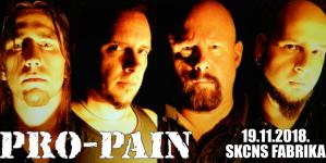 Pro-Pain 19. novembra u Novom Sadu