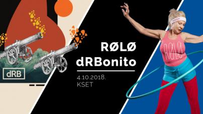 Dvostruka promocija albuma uz RØLØ i dRBonito 4. listopada u KSET-u
