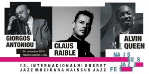 Claus Raible trio zatvara Naissus Jazz Fest a Alvin Queen poziva Nišlije na Fest
