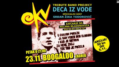 Deca iz vode i Srđan Žika Todorović 23.11. u zagrebačkom Boogaloou