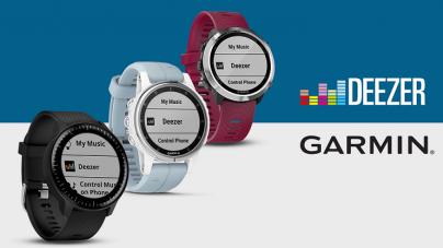 Deezer od sada možete slušati i na novoj generaciji satova iz Garmina