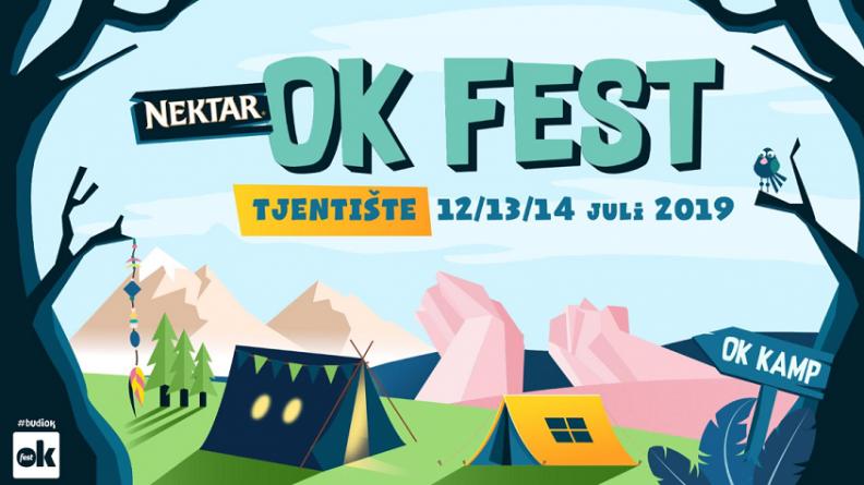 Objavljen program i satnica šestog po redu Nektar OK Festa