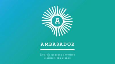 PDV, Jan Kinčl & Regis Kattie, i ABOP u nominacijama ovogodišnjeg Ambasadora