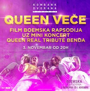Queen veče 3. novembra u Kombank dvorani