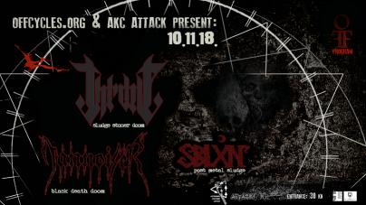 Off Program IX: Throne, Tannoiser i Sblxn 10.11. u AKC Attack