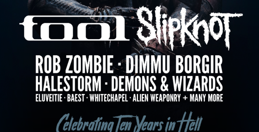 Tool and Slipknot to headline Copenhell 2019