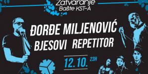 Zatvaranje bašte KST-a uz Repetitor, Bjesove i Đorđa Miljenovića