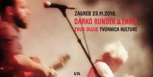 Rasprodan koncert Darka Rundeka i Ekipe u Tvornici kulture