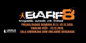 Otvoren konkurs za učešće na festivalu BARF 2018
