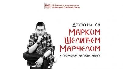Druženje sa Marčelom i promocija njegovih knjiga 27. novembra u Banjaluci