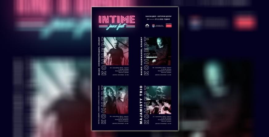 Prvi 'Intime Jazz Fest' od 24. do 27. novembra u banjalučkom Banskom dvoru