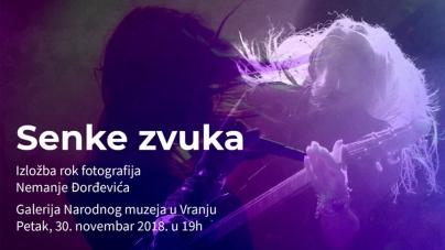 """Izložba rok fotografija """"Senke zvuka"""" Nemanje Đorđevića"""