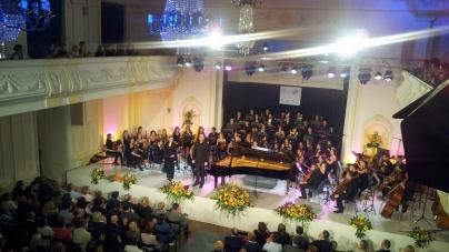 Koncert klasične muzike u Banskom dvoru, u decembru