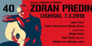 """""""Ljubavnik iz ormara"""" u Lisinskom – Zoran Predin velikim koncertom slavi 40 godina karijere"""