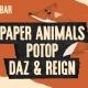 Paper Animals, Potop i Daz & Reign sutra u KC Grad