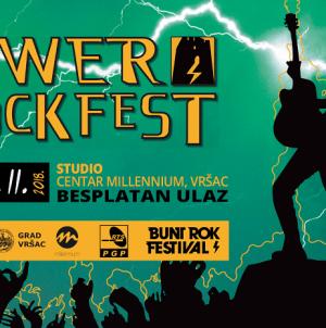 6. Tower Rock Fest, festival autorskih bendova Srbije od 22. do 24. novembra u Vršcu