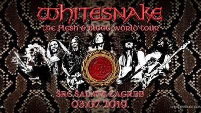 Whitesnake donose u srijedu najveće hitove u Zagreb