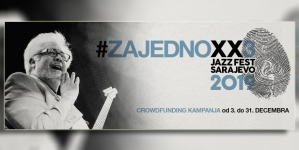 Od 3. do 31. decembra crowdfunding kampanja za XX3. Jazz Fest Sarajevo