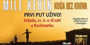 Zagrijavanje za Vintage – Mile Kekin sutra u Rockmarku