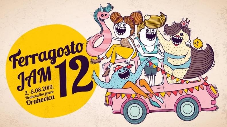 Ferragosto JAM 12 – Prvi put stižu Nered i Stoka, Kries, Porto Morto