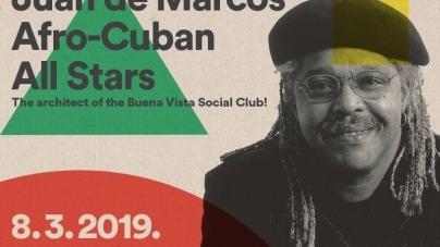 Afro-Cuban All Stars na Dan žena u Tvornici kulture