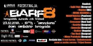 Finale BARF-a u nedelju u Domu omladine Beograda