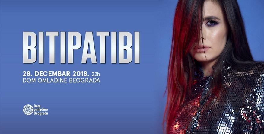Bitipatibi 28. decembra u Domu omladine Beograda