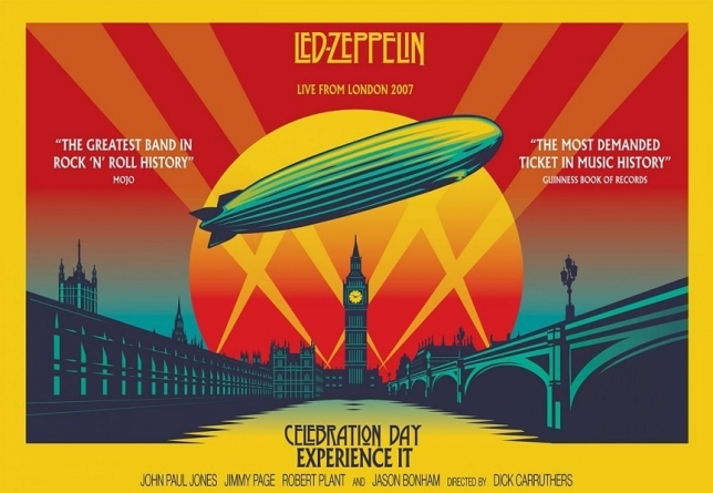 """Celebration Day"": koncertni film Led Zeppelina ovog vikenda na YouTube kanalu grupe"