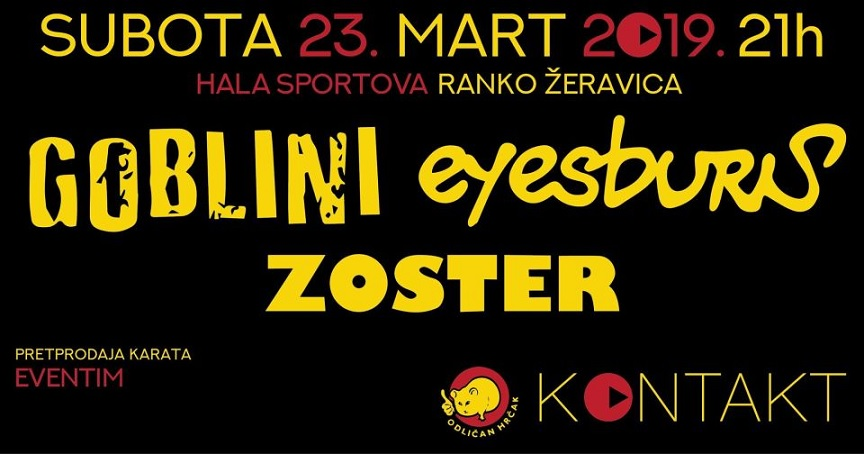 Eyesburn Zoster Goblini - Hala sportova