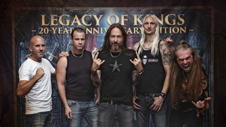 """HammerFall – """"Legacy Of Kings – 20 Year Anniversary Edition"""" Out Now! + new trailer"""