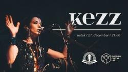 Kezz 21. decembra u novosadskom Kulturnom Centru Lab