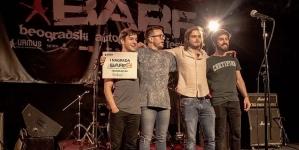 Majdan pobedio na Beogradskom autorskom rok festivalu – BARF 2018