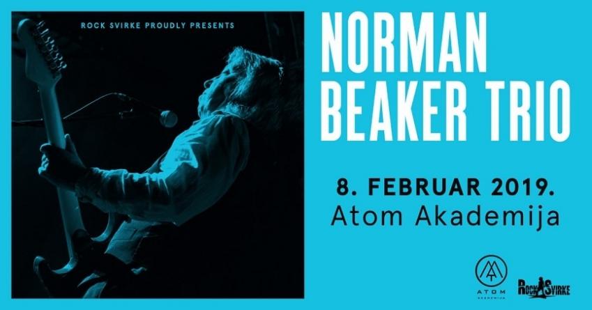 Norman Beaker Trio 8. februara u Beogradu