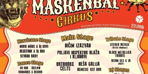 45. KST maskenbal Cirkus – Ničim Izazvan, Orthodox Celts, Nemesis i program na devet bina