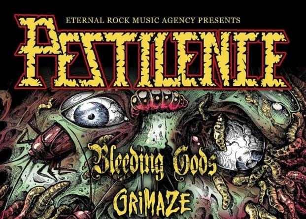 Pestilence i Bleeding Gods 18.03. u Vintage Industrialu