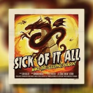 "Recenzija albuma: Sick Of It All – ""Wake The Sleeping Dragon!"""