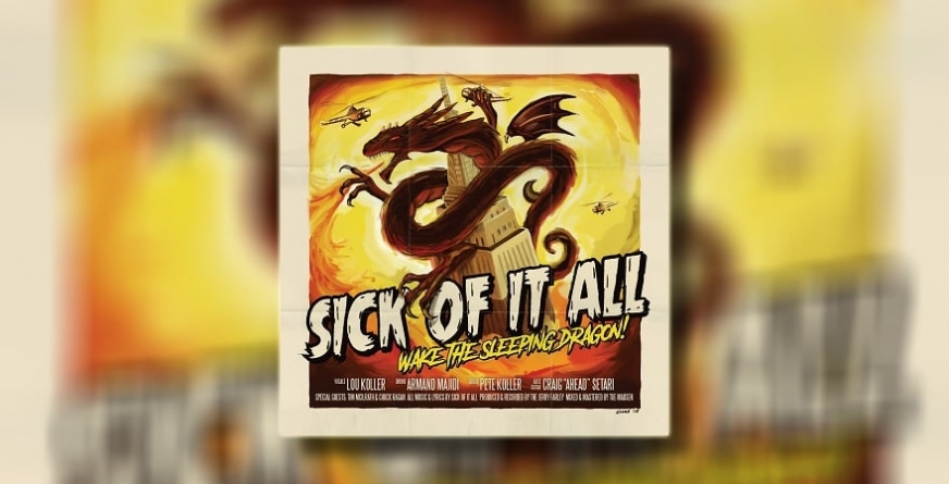 "Recenzija albuma: Sick Of It All – ""Wake The Sleeping Dragon!"""