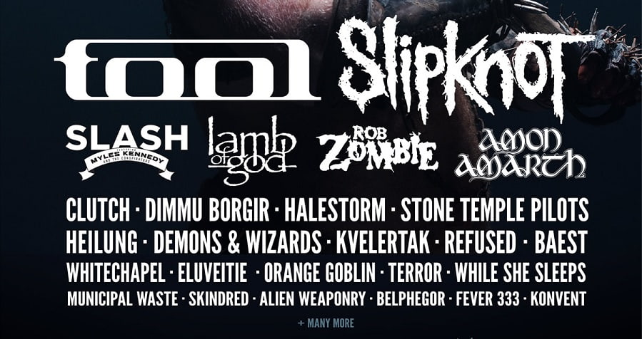 Slash, Lamb Of God, Amon Amarth, Clutch and many more join the line-up of Copenhell 2019