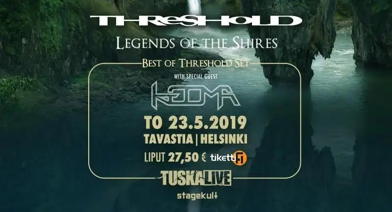 TUSKALIVE THRESHOLD TO HELSINKI IN MAY