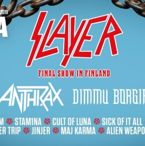 Tuska 2019: Slayer confirmed to headline