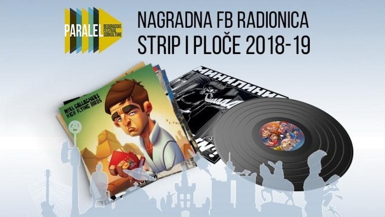 """7. humanitarna nagradna FB radionica """"Strip i ploče"""""""