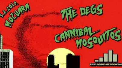 Cannibal Mosquitos & The Degs 05.02. u Močvari