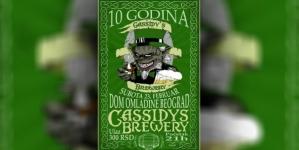 Cassidy's Brewery 23. februara u Domu omladine Beograda
