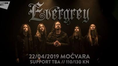 Evergrey 22. travnja u zagrebačkoj Močvari