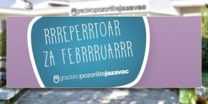 Gradsko pozorište Jazavac – Repertoar za februar 2019.