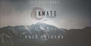Inmate, MBurns i Pale Origins 23. veljače u KSET-u