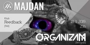 Majdan i Organizam 18. januara u niškom Feedbacku